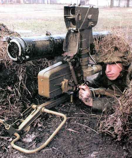 """""""Фагот"""" — переносной противотанковый ракетный комплекс 9К111"""