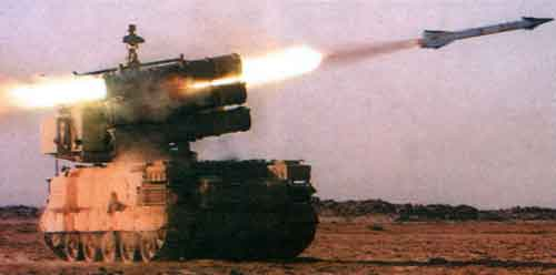 """""""Шаин"""" — самоходный зенитно-ракетный комплекс малой дальности"""