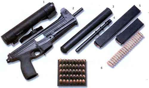 «Яти-матик» — 9-мм пистолет-пулемет
