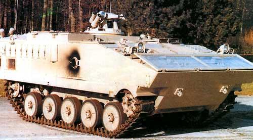 АМХ 10P — боевая машина пехоты