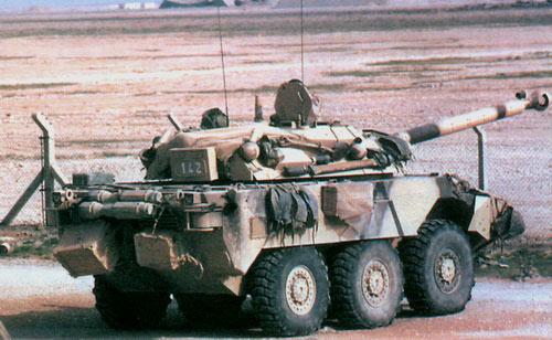 AMX 1ORC — боевая разведывательная машин