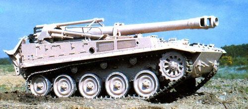 Самоходная гаубица калибра 155 мм на шасси АМХ-13