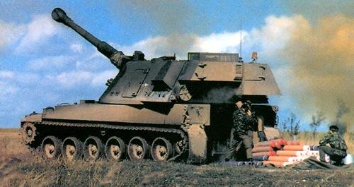 AS-90 — 155-мм самоходная гаубица
