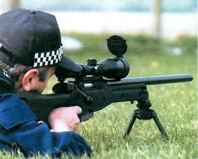AW — 7, 62-мм снайперская винтовка