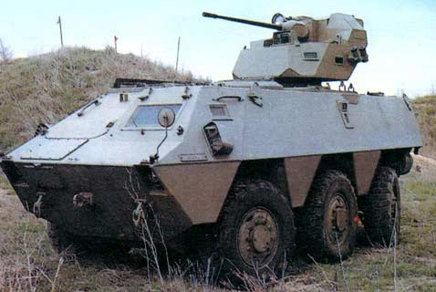 BMR-600 — колесный бронетранспортер