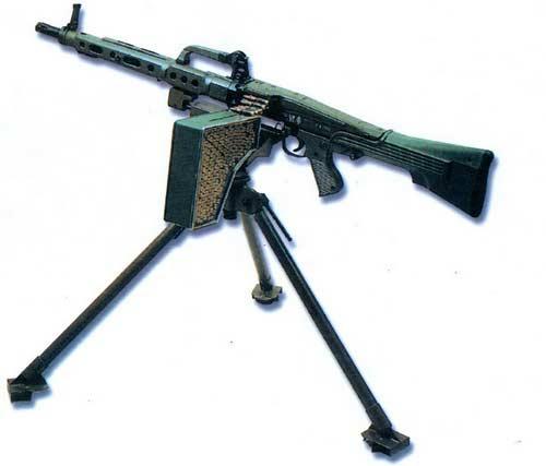 Сетме «Амели» - 5, 56-мм пулемет