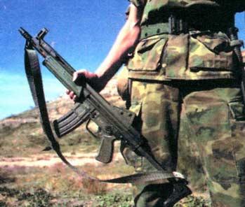 Сетме Модели L — 5, 56-мм автоматическая винтовка