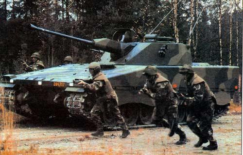 CV 90 — боевая машина пехоты