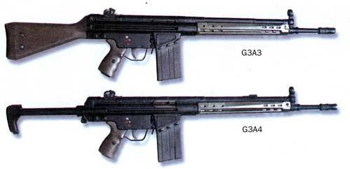 G3 — 7, 62-мм автоматическая винтовка