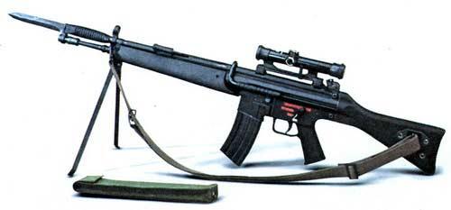 G41 — 5, 56-мм винтовка