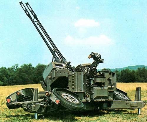 GDF — 35-мм буксируемый зенитный комплекс
