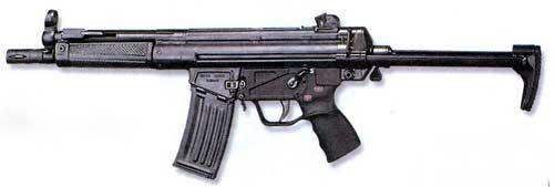 НК 33 — 5, 56-мм автоматическая винтовка с выдвинутым прикладом