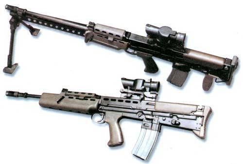 L85A1 — 5, 56-мм автоматическая винтовка