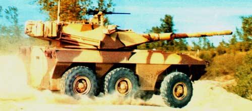LAV-600 — бронетранспортер