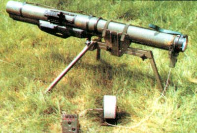 LAW 80 — легкий реактивный противотанковый гранатомет одноразового действия калибра 94 мм