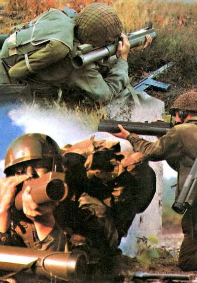 LAW M72 — легкий реактивный противотанковый гранатомет одноразового действия