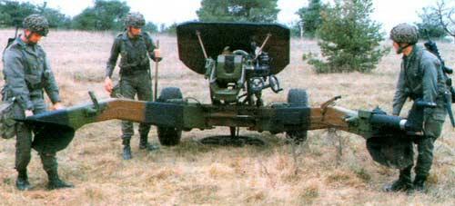 LG1 — 105-мм легкая буксируемая полевая пушка