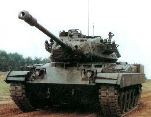 М41 — американский танк специального назначения