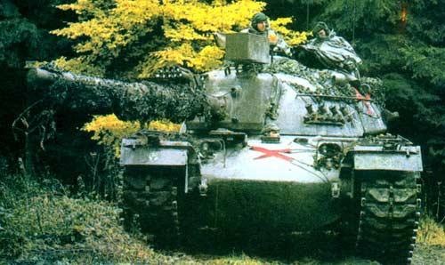 М48 — основной боевой танк