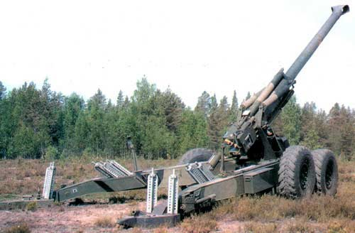 М83 — 155-мм буксируемая пушка-гаубица