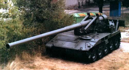 М107 — 175-мм самоходная пушка