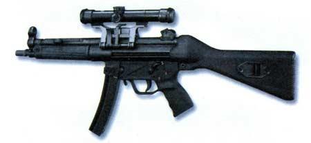 МР5 — 9-мм пистолет-пулемет