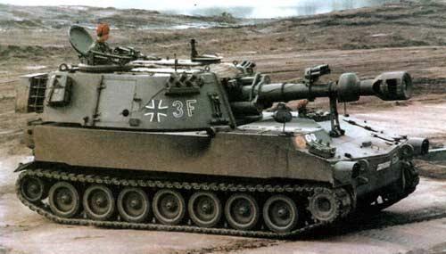 М109 — 155-мм самоходная гаубица закрытого типа