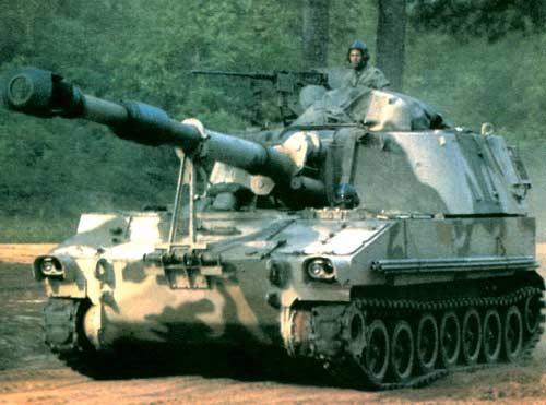 155-мм самоходная гаубица М109А5