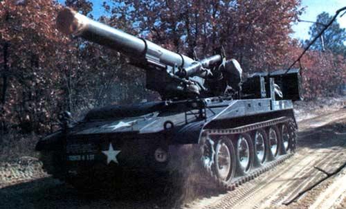 M110 — 203-мм самоходная гаубица