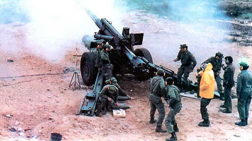 М139 — 155-мм буксируемая пушка-гаубица