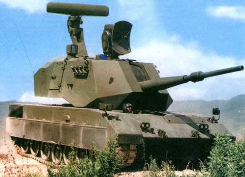 OTOMATIC — 76-мм самоходная зенитная артиллерийская установка