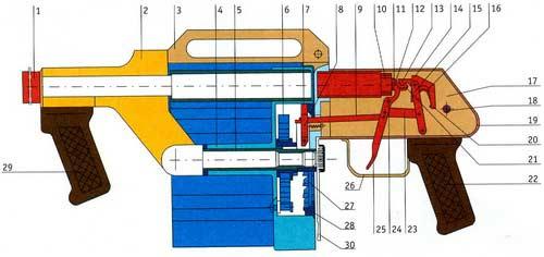 RGA-86 — 26-MM ружье револьверного типа
