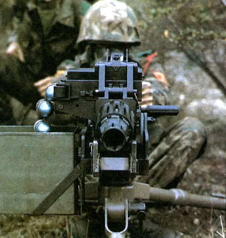 SB 40 LAG —40-мм автоматический противопехотный гранатомет