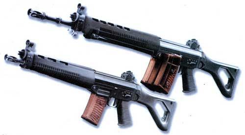 SG 550 и SG 551 винтовка