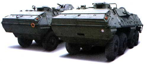 SKOT — колесный бронетранспортер