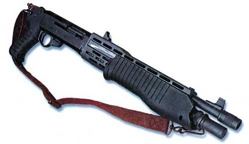 Ружье SPAS 12 является самозарядным оружием.  При неавтоматическом самозарядном режиме работы ружье действует по...