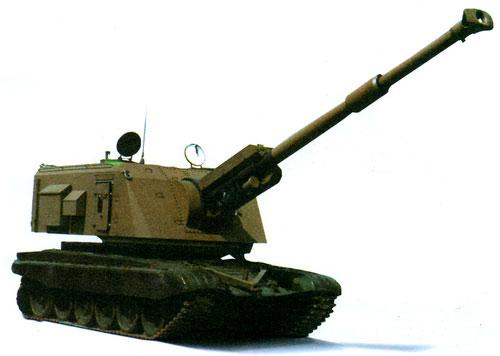 Самоходная 155-мм пушка-гаубица