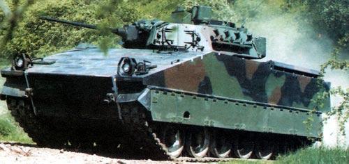 ТН 495 в версии боевой машины пехоты