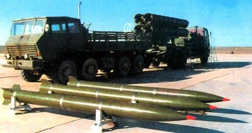 WS-1 В — 302-мм реактивная система залпового огня